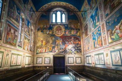 scrovegni chapel by Giotto