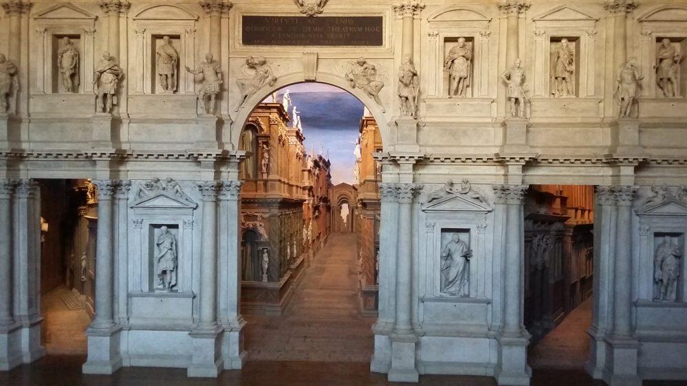 Vicence ville de Palladio