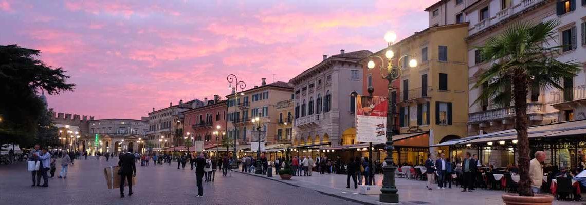 Verona at dusk