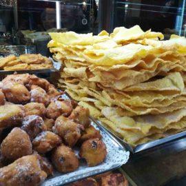 Frittelle e galani per il carnevale veronese