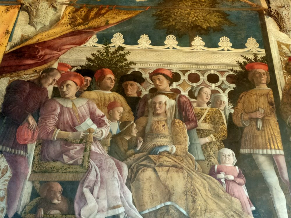 Gonzaga family by Andrea Mantegna