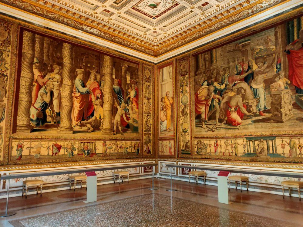 Sala delle Imperatrici palazzo ducale mantova