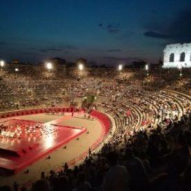 festival dans les Arènes de Vérone