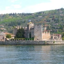 The castle of Lazise