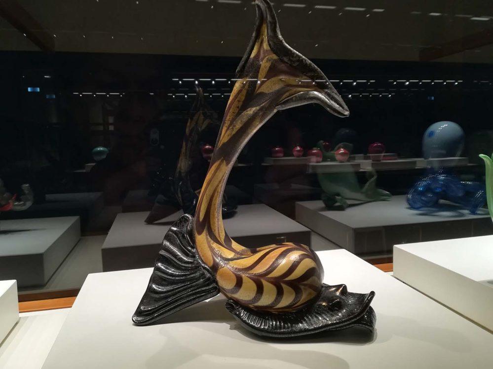 Arte vetraria pesce Carlo Scarpa
