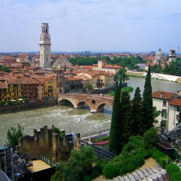 Verona e il fiume Adige