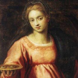 Santa Lucia patrona della vista