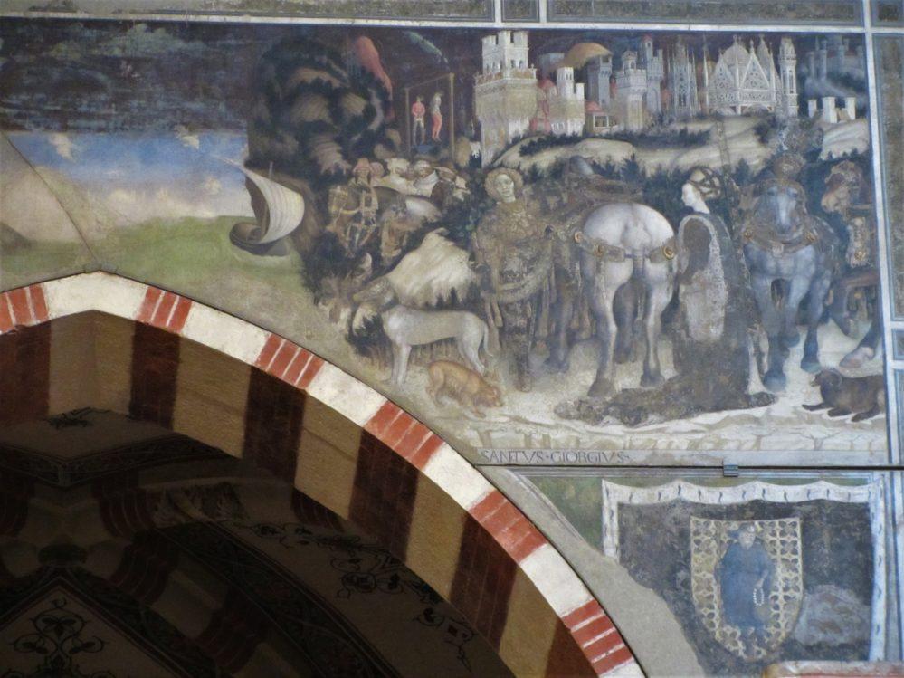 San Giorgio e la principessa Pisanello