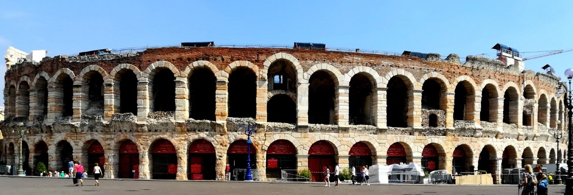 The roman amphitheater