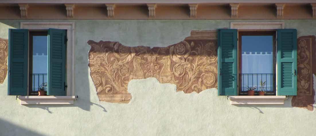 Fresques maison à Vérone