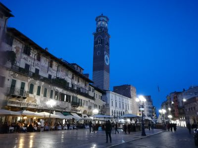 Piazza Erbe by night