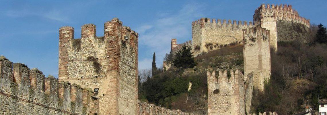 mura e castello soave